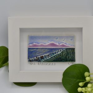 mournes lilac small frame tile